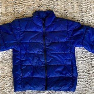 Boys Puffer Coat - Blue